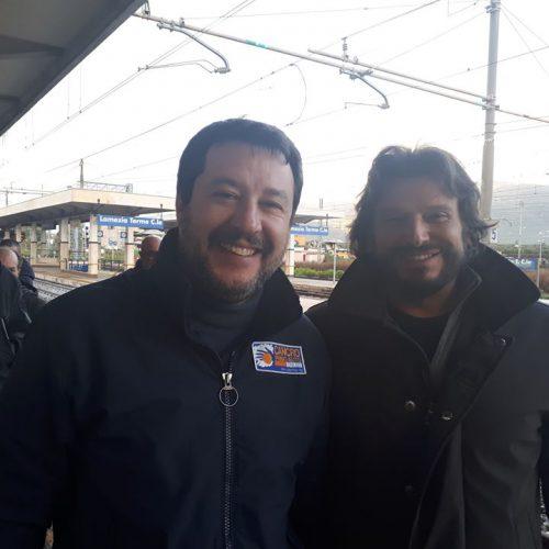 Matteo Salvini e Invernizzi:Calabria,i giovani della Lega fuori dalle liste,non vi rimane che emigrare