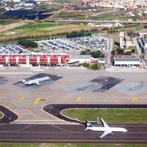 Governo chiude molti aeroporti, compreso Reggio, fino al 25 marzo. Operativo Lamezia