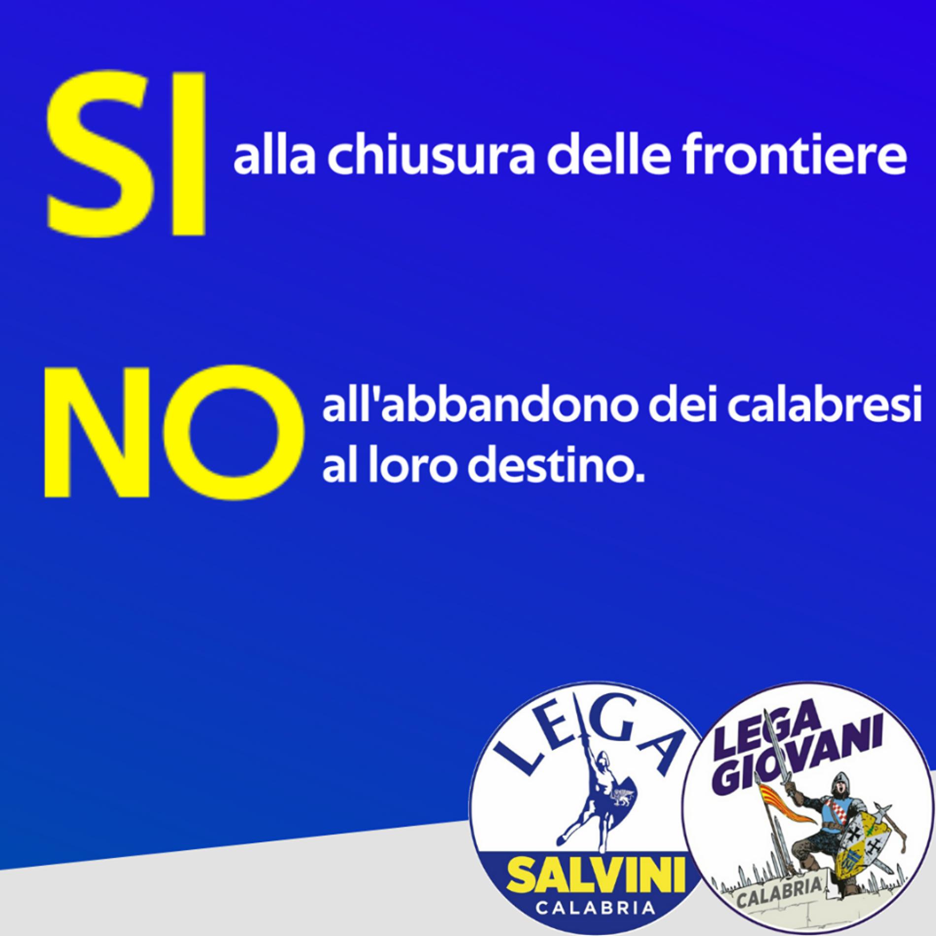"""Lega Calabria:""""SONO SENZA VERGOGNA.Vogliono distogliere la nostra posizione per attaccarci. """""""