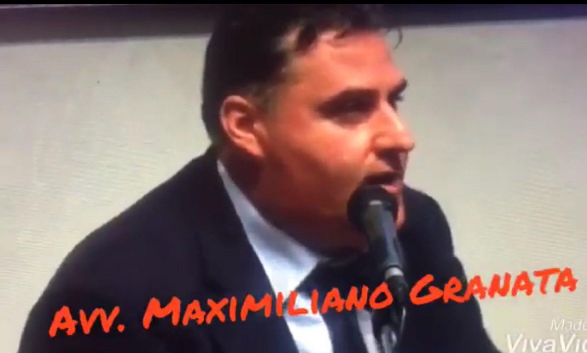 Città di Messina. Intervento Avv. Maximiliano Granata .